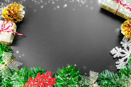 hristmas background with copy space for product montage or text message.