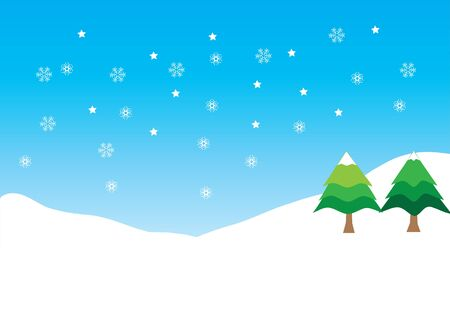 snowing Stock Vector - 16671338