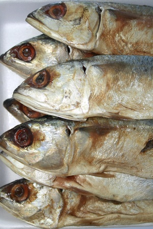 stowing: Salted fish is a famous stowing food Stock Photo