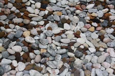 those cobbles use to filter water in swimming pool photo