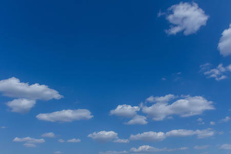 The blue sky and white clouds indicate pure and freshing. Stock fotó