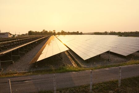 Solar panel, alternative electricity source - concept of sustainable resources, And this is the solar panel mono type.