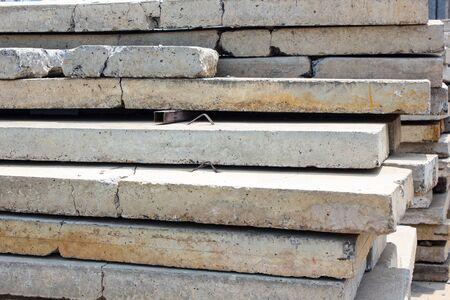 slabs: Concrete slabs Stock Photo