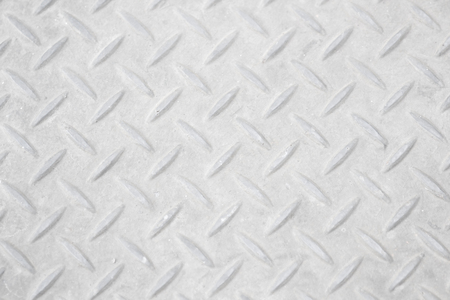 diamondplate: Black and white vintage looking steel plate useful as background Stock Photo