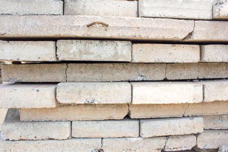 lajas: Las losas de concreto Foto de archivo