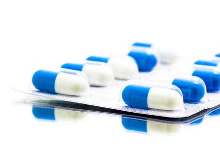 antibiotics: Antibiotics Capsules Yellow pigment black