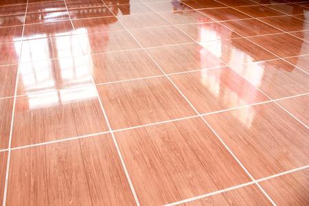 Red Tiles  floor background