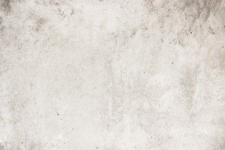 suitable: Old gray concrete floors are full of scratches. Suitable for decoration design. Stock Photo