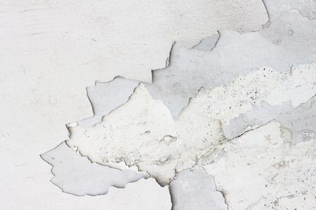 Peeling Paint Concrete Wall Texture Background Gray Suitable For Use In Classic Design Loft Style
