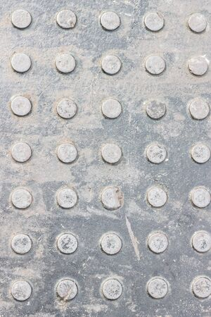 diamond plate: Top view Steel floor for texture,walkway is made of steel sheets,with non-slip surface.