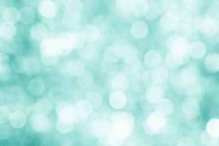 blue bokeh background abstract light background