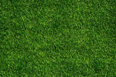 Green background of artificial turf For exterior design and business fairs.