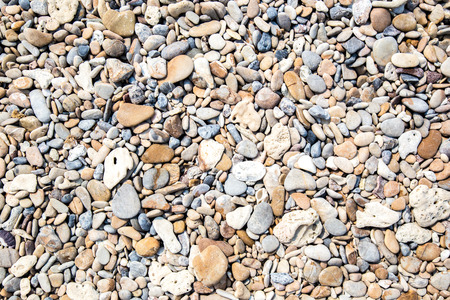 nature sea stone texture background on beach in summer for wall design and natural background, business concept in summer. 스톡 콘텐츠