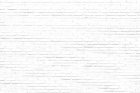 white brick wall texture background of modern style design decorative uneven . Imagens