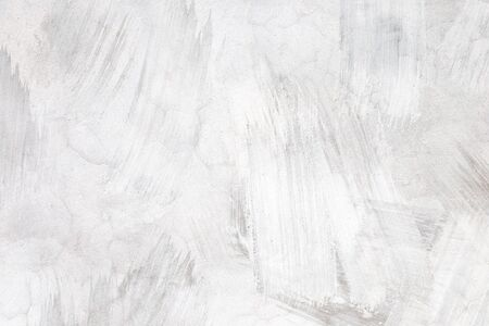 White walls of concrete used plaster. There are no signs of cement that is not smooth, it is not beautiful lines.Plastering is a loft-style home that is currently popular in the world.