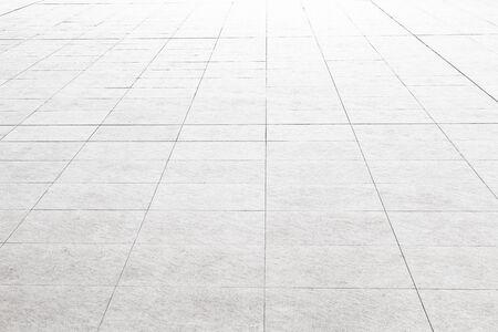 Pavimento piastrellato in marmo bianco ideale per uno sfondo e utilizzato per l'interior design.