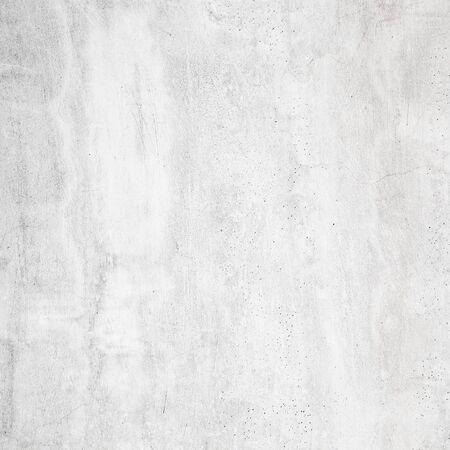 weißer Betonbeschaffenheitshintergrund des natürlichen Zements oder der alten Steinbeschaffenheit als Retro-Musterwand. Wird zum Platzieren des Banners auf der Betonwand verwendet. Standard-Bild