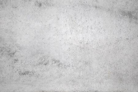 weißer Betonbeschaffenheitshintergrund des natürlichen Zements oder der alten Steinbeschaffenheit als Retro-Musterwand. Wird zum Platzieren des Banners auf der Betonwand verwendet.