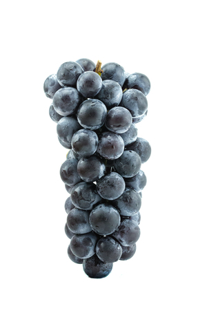 Raisins frais du jardin au Japon. Banque d'images