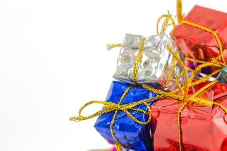 幸せ DayDecor とクリスマスのギフト ボックス
