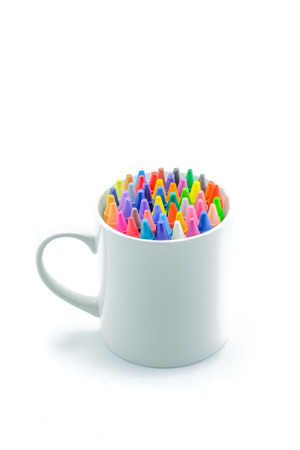 pencil ArtTry to make the best of now Stock Photo