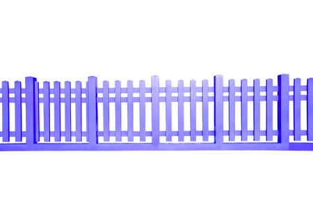 ranch background: Wooden fence at ranch isolated over white background