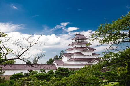 후쿠시마, 일본의 츠 루가 성