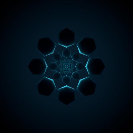 octagon: abstract octagon design