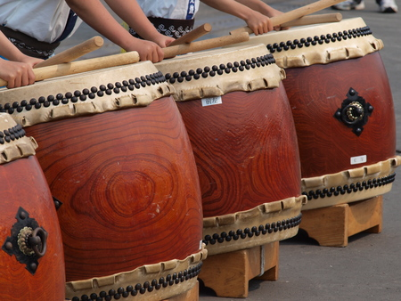 taiko that lined