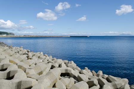 world natural heritage: Blue Sea coast