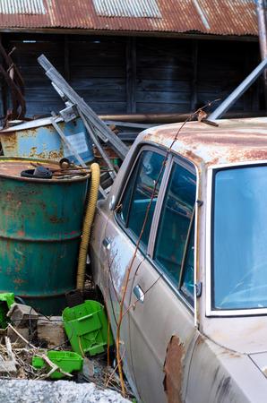 scrapped: Scrapped car