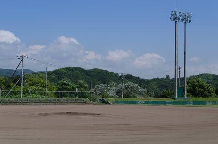 backstop: Baseball views