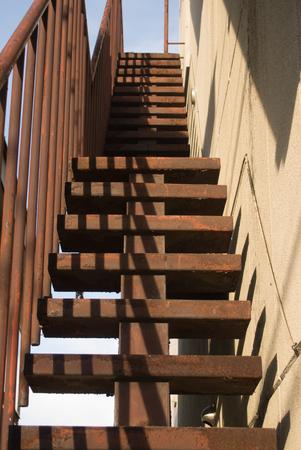 steel: Steel stairs