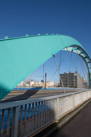 complementary: Blue bridge