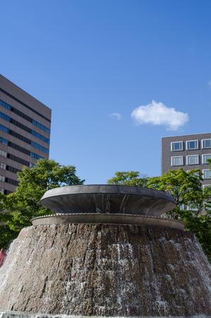 odori: Odori Park fountain