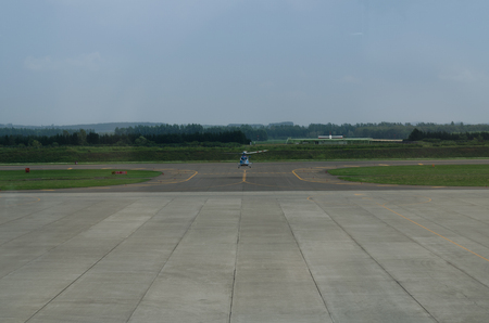 airfield: View of the airfield