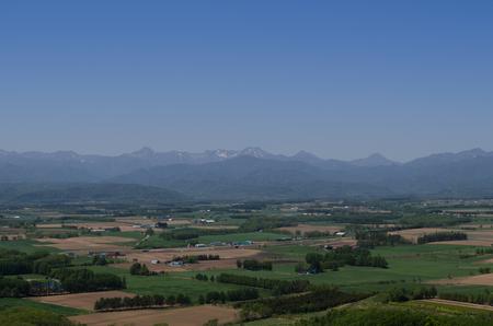 View of the Tokachi