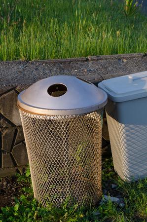 Park garbage bin