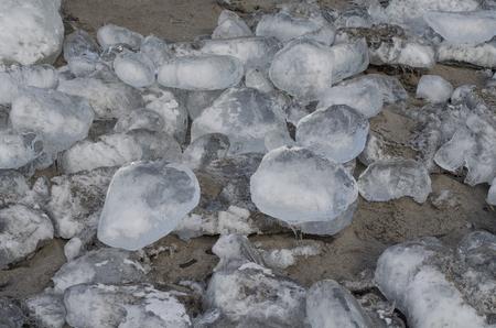 Ice jewelry Reklamní fotografie