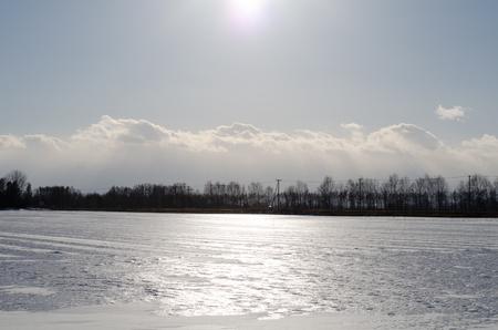 Ice fields Imagens