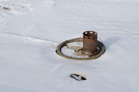 Left stove 写真素材 - 119761766