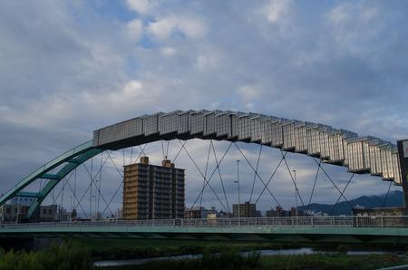 Water ear bridge under repair