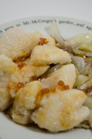 Chicken dish Imagens