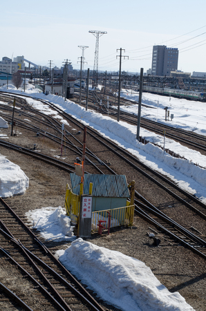 Snow train 報道画像