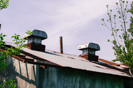 Old factory 写真素材