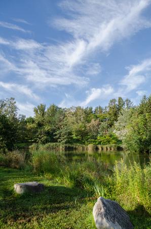 Midorigaoka park landscape Stok Fotoğraf