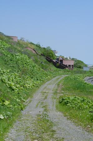 The coastline of Hiroo town