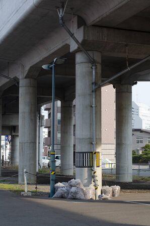 Under the Railway Overpass