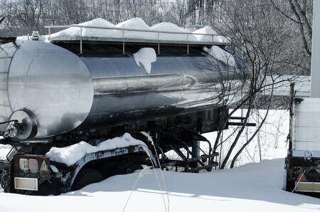 a car with snow