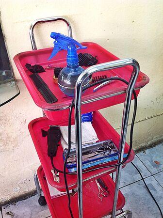 haircut: Haircut Thailand Stock Photo